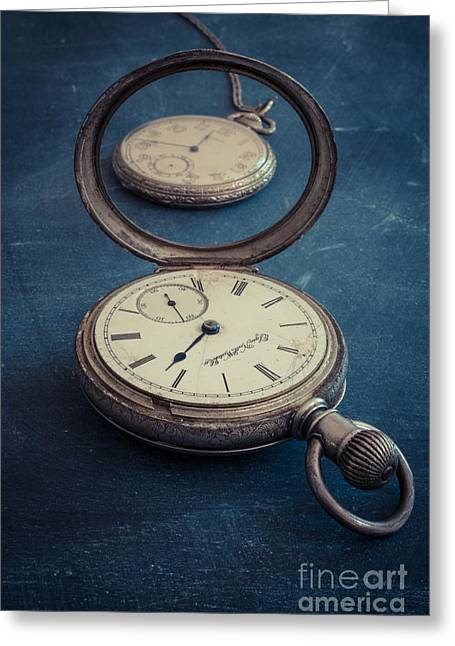 Timepieces Greeting Cards - Time Pieces Greeting Card by Edward Fielding
