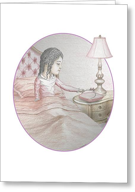 Pajamas Greeting Cards - Time to Dream Greeting Card by James Willoughby III