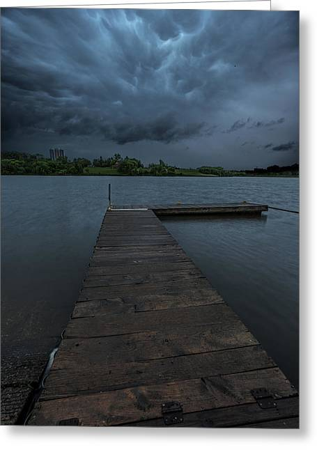 Severe Weather Greeting Cards - Time To Go Greeting Card by Aaron J Groen