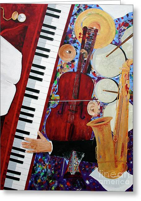 Andrew Wells Greeting Cards - Time To Play Greeting Card by Andrew Wells