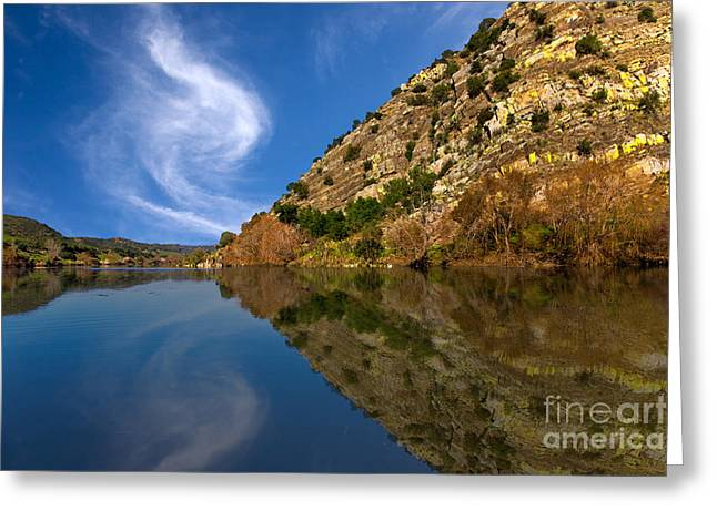 Time To Reflect On Life Greeting Card by English Landscapes