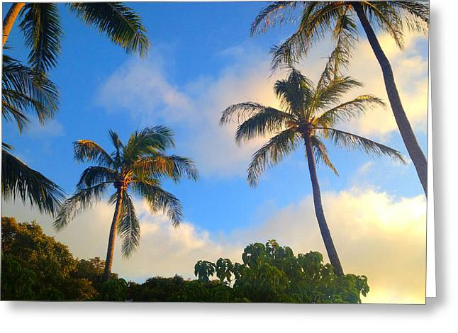 Lahaina Digital Greeting Cards - Time To Relax Greeting Card by Robert Pierce