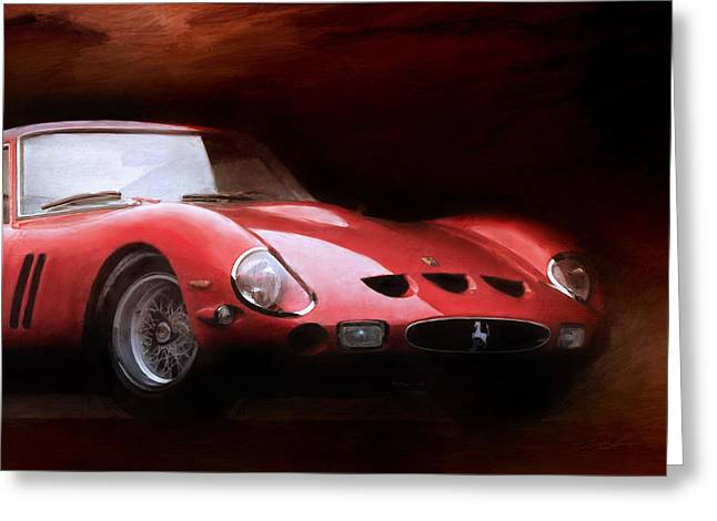 Ferrari 250 Gto Greeting Cards - Timeless 250 GTO 2 Greeting Card by Peter Chilelli