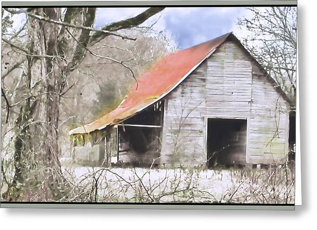Tin Roof Digital Art Greeting Cards - Timeless Greeting Card by Betty LaRue