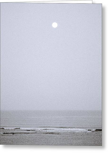 Ethereal Beach Scene Greeting Cards - Timeless Earth Greeting Card by Shaun Higson