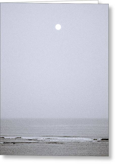 Ethereal Beach Scene Greeting Cards - Timeless Moments Greeting Card by Shaun Higson