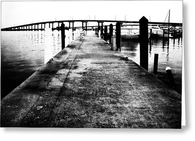 Outlook Drawings Greeting Cards - Timeless Harbor Photo Greeting Card by PhotoArtist PhotoArtist