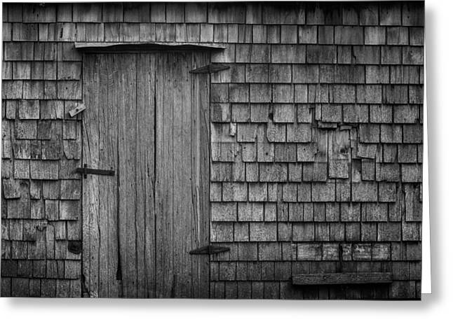 Door Hinges Greeting Cards - Timeless Greeting Card by Matt Dobson