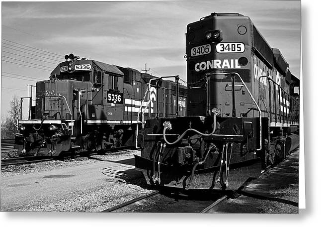 Caboose Greeting Cards - Timeless Greeting Card by Frozen in Time Fine Art Photography