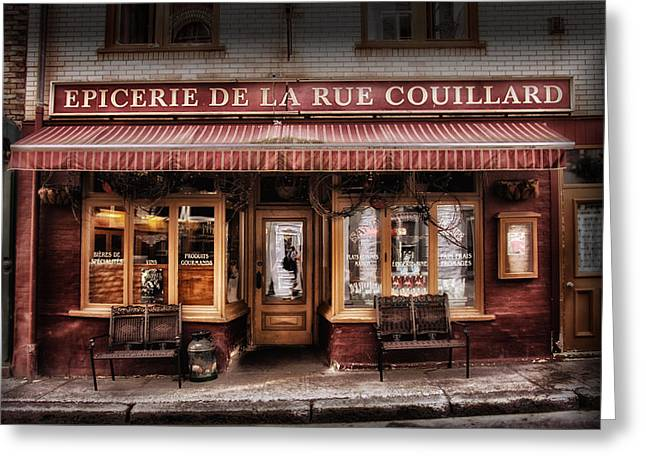 Store Fronts Greeting Cards - Timeless.... Greeting Card by Russell Styles