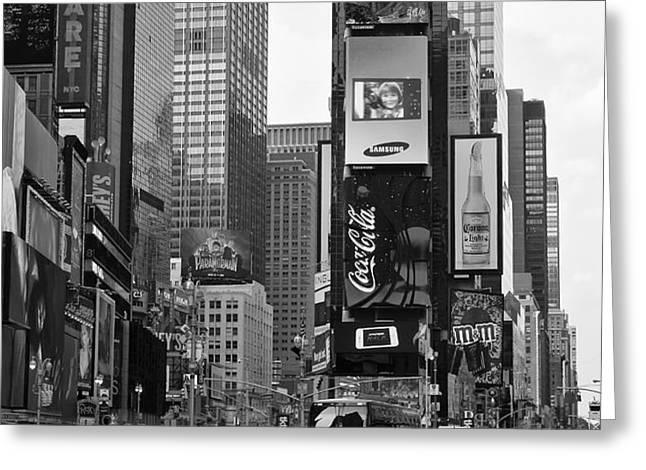 Times Square NYC Greeting Card by Melanie Viola