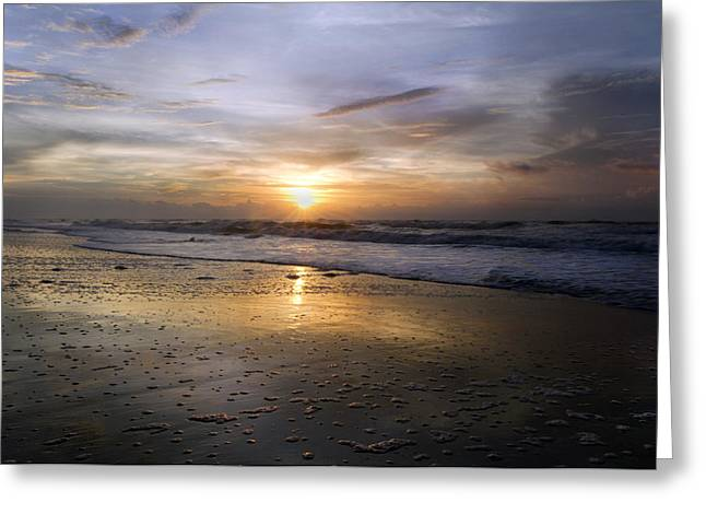 Topsail Island Greeting Cards - Timing Greeting Card by Betsy C  Knapp