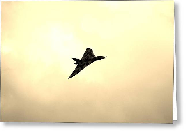 Tin Planes Greeting Cards - Tin Triangle Greeting Card by Martin Jones