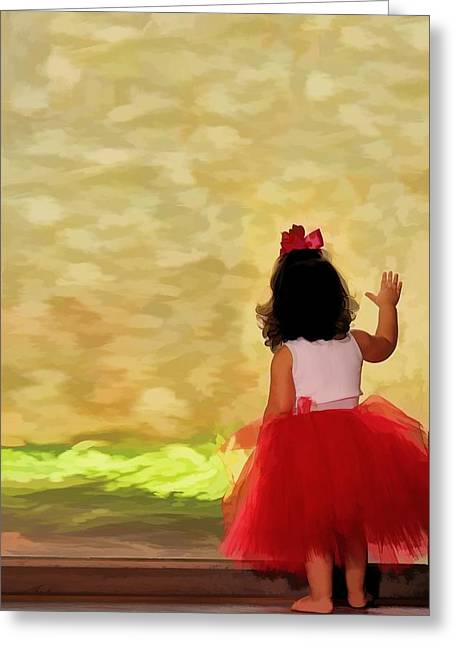 Child Dancers Greeting Cards - Tiny Dancer Greeting Card by Brad Barton