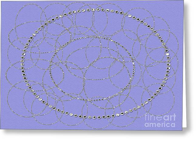 Installation Art Greeting Cards - Tiny Round Mirrors Greeting Card by Tina M Wenger