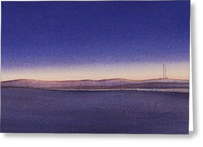 High Plains Greeting Cards - Tiwlight On The Central Plains II Greeting Card by Scott Kirby