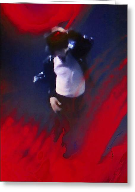 Mj Greeting Cards - To Be Loved Greeting Card by Kume Bryant