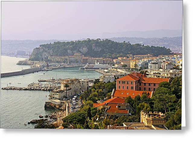 Antibes Greeting Cards - To Catch a Thief - Nice France Greeting Card by Christine Till