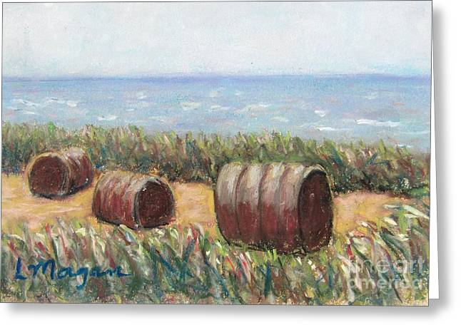 Bale Pastels Greeting Cards - To Every Season Greeting Card by Laurie Morgan
