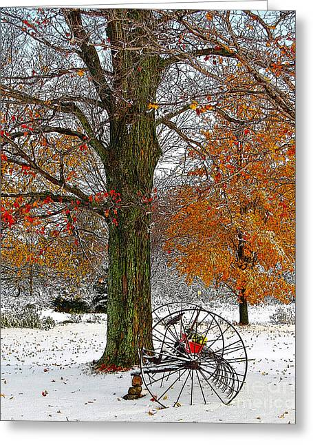 Best Sellers -  - Berry Greeting Cards - To everything there is a season... Greeting Card by Diane E Berry