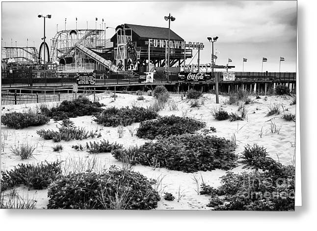 Seaside Heights Greeting Cards - To Funtown Pier Greeting Card by John Rizzuto
