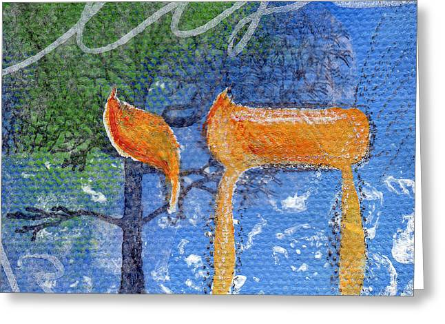 To Life Greeting Card by Linda Woods