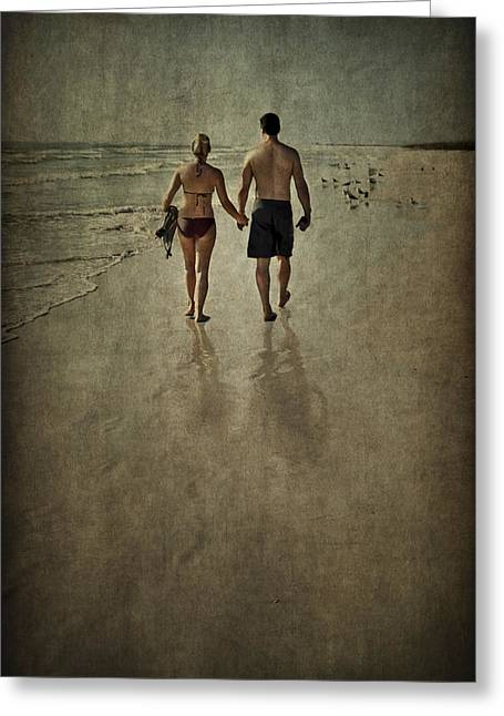 Holden Beach Greeting Cards - To Love Greeting Card by Evelina Kremsdorf