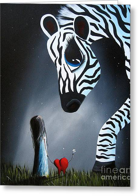 Precious Paintings Greeting Cards - To Love Is To Be Loved by Shawna Erback Greeting Card by Shawna Erback