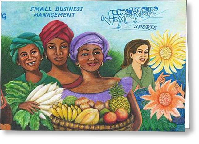 Empowerment Greeting Cards - To See Them Free Greeting Card by Belle Perez-de-Tagle