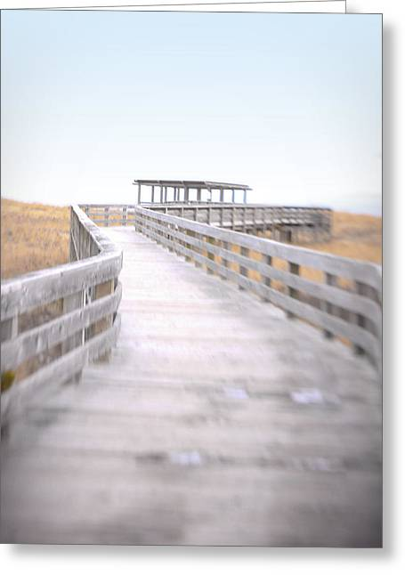 Walkway To The Beach Greeting Cards - To the Beach Greeting Card by K Hines