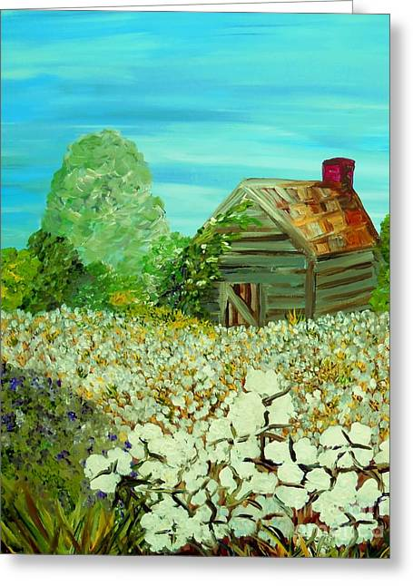 Tennessee Farm Greeting Cards - To the Edge Greeting Card by Eloise Schneider