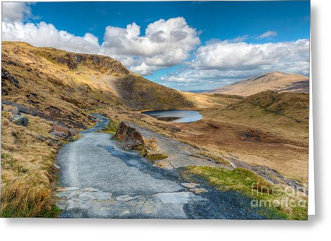 Rock Spring Trail Greeting Cards - To The Lake Greeting Card by Adrian Evans