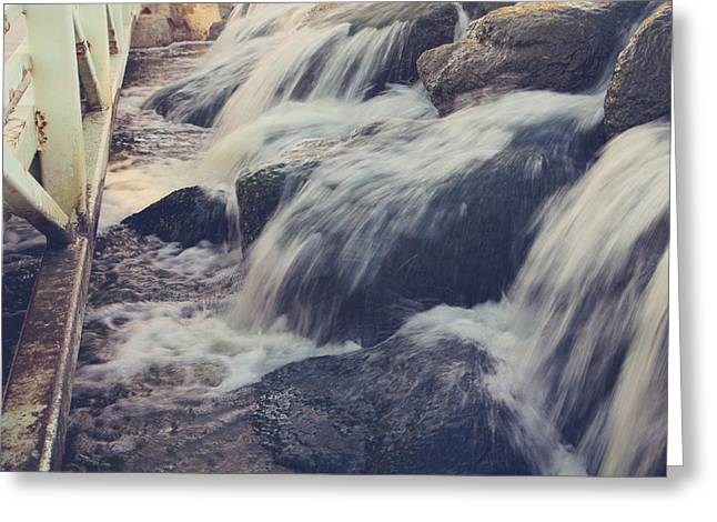 Rushing Water Greeting Cards - To the Place I Love Greeting Card by Laurie Search