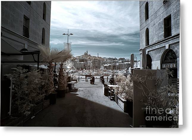 D.w Greeting Cards - To the Port Greeting Card by John Rizzuto