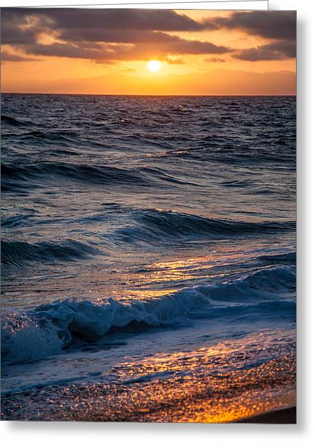 California Beach Greeting Cards - To The Sea Greeting Card by April Reppucci