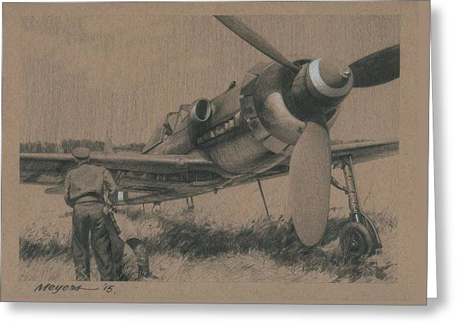 Military Aviation Greeting Cards - To the Victors Greeting Card by Wade Meyers