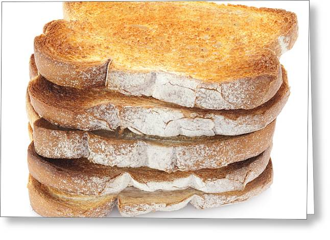 Sliced Bread Greeting Cards - Toast Stack Greeting Card by Colin and Linda McKie