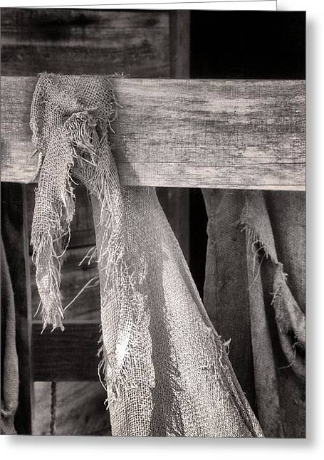 Farming Tapestries - Textiles Greeting Cards - Tobacco Life Greeting Card by Keith Woodbury
