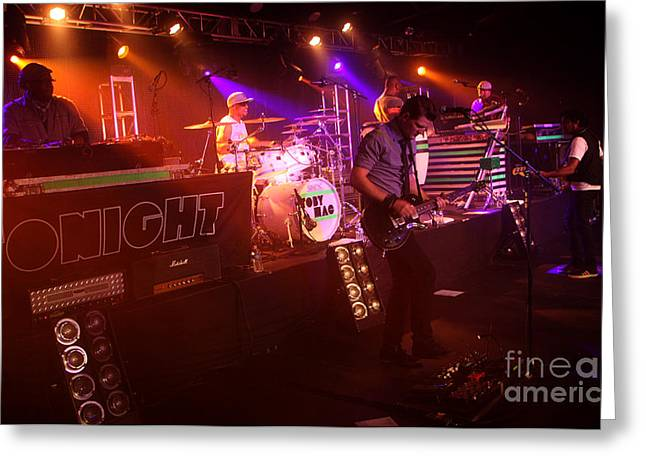 Popular Art Greeting Cards - TobyMac-Band-4581 Greeting Card by Gary Gingrich Galleries