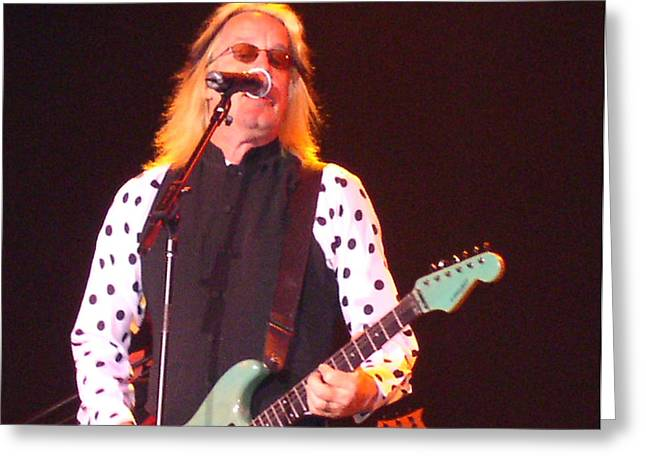 Recently Sold -  - Saw Greeting Cards - Todd Rundgren Greeting Card by Melinda Saminski