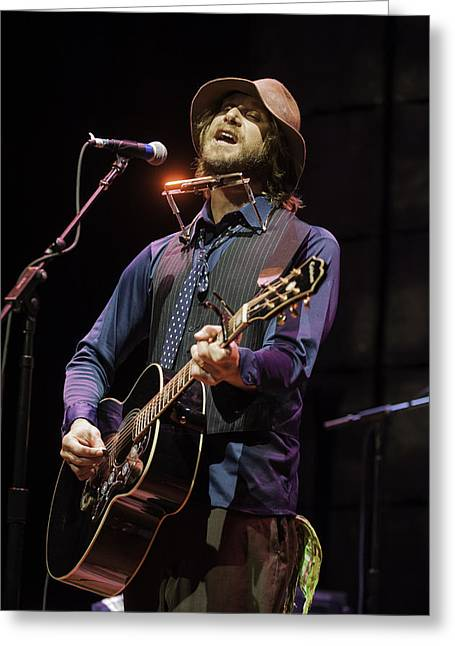 Snider Greeting Cards - Todd Snider  Greeting Card by David Simchock
