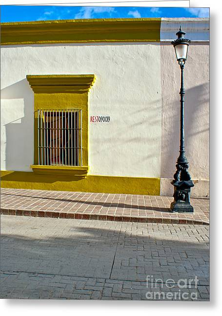 Ally Photographs Greeting Cards - Todos Alley Greeting Card by Ryan Burton