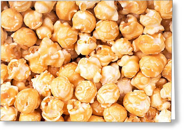 Junk Greeting Cards - Toffee popcorn Greeting Card by Jane Rix