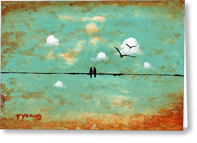 Together Greeting Card by Todd Young