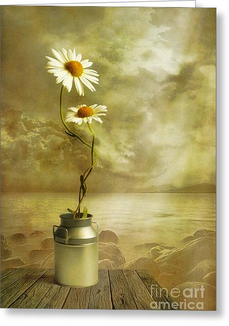 Flower Art Greeting Cards - Together Greeting Card by Veikko Suikkanen