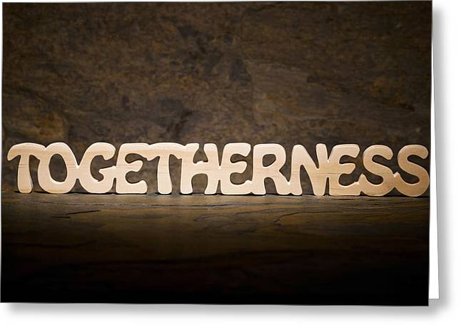 Positive Attitude Greeting Cards - Togetherness Greeting Card by Donald  Erickson