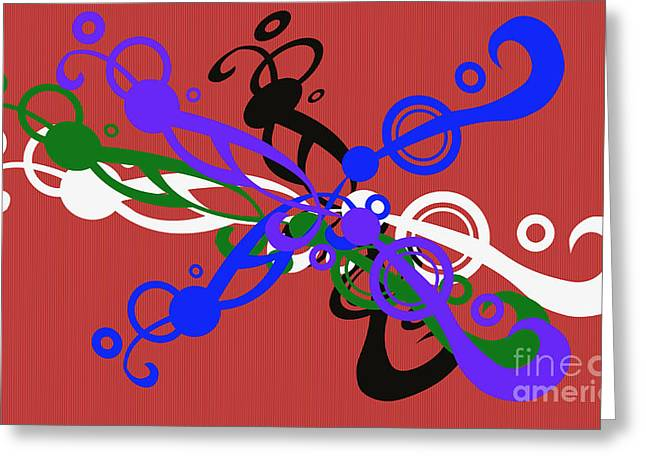 Installation Art Greeting Cards - Togetherness Greeting Card by Tina M Wenger