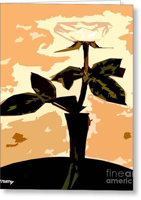 Flower Still Life Prints Greeting Cards - Token Of Love Greeting Card by Patrick J Murphy