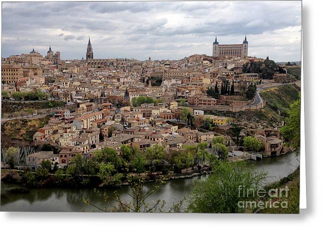 Castile La Mancha Greeting Cards - Toledo Greeting Card by Margie Hurwich