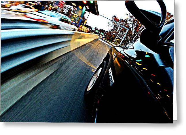 Go Pro Greeting Cards - Toll Booth Greeting Card by Erik Kaplan
